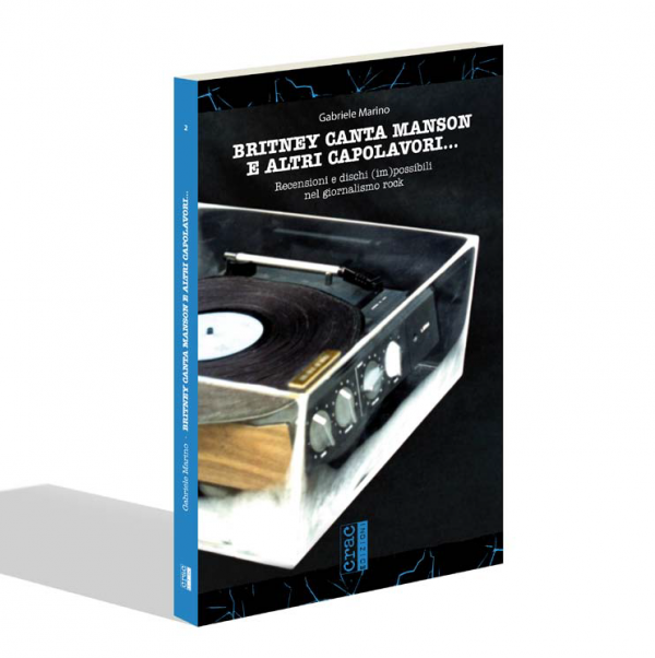 """""""Britney canta Manson e altri capolavori"""": il libro del cefaludese Gabriele Marino"""