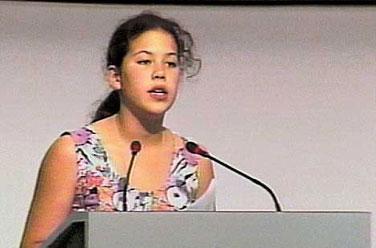 La bambina che zittì il Mondo per 6 minuti (Video sottotitolato - Nazioni Unite 1992)