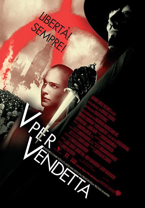 V per Vendetta: il discorso di V e l'importanza della parola