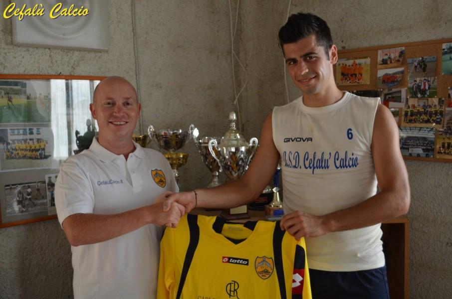 Calcio Mercato: Domenico Geraci nuovo acquisto all'A.S.D. Cefalù Calcio