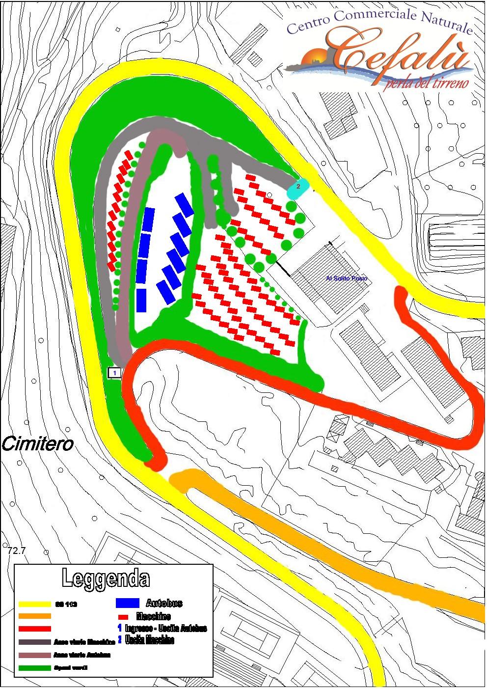 Centro Commerciale Naturale - Progetti: Villa e Parcheggi