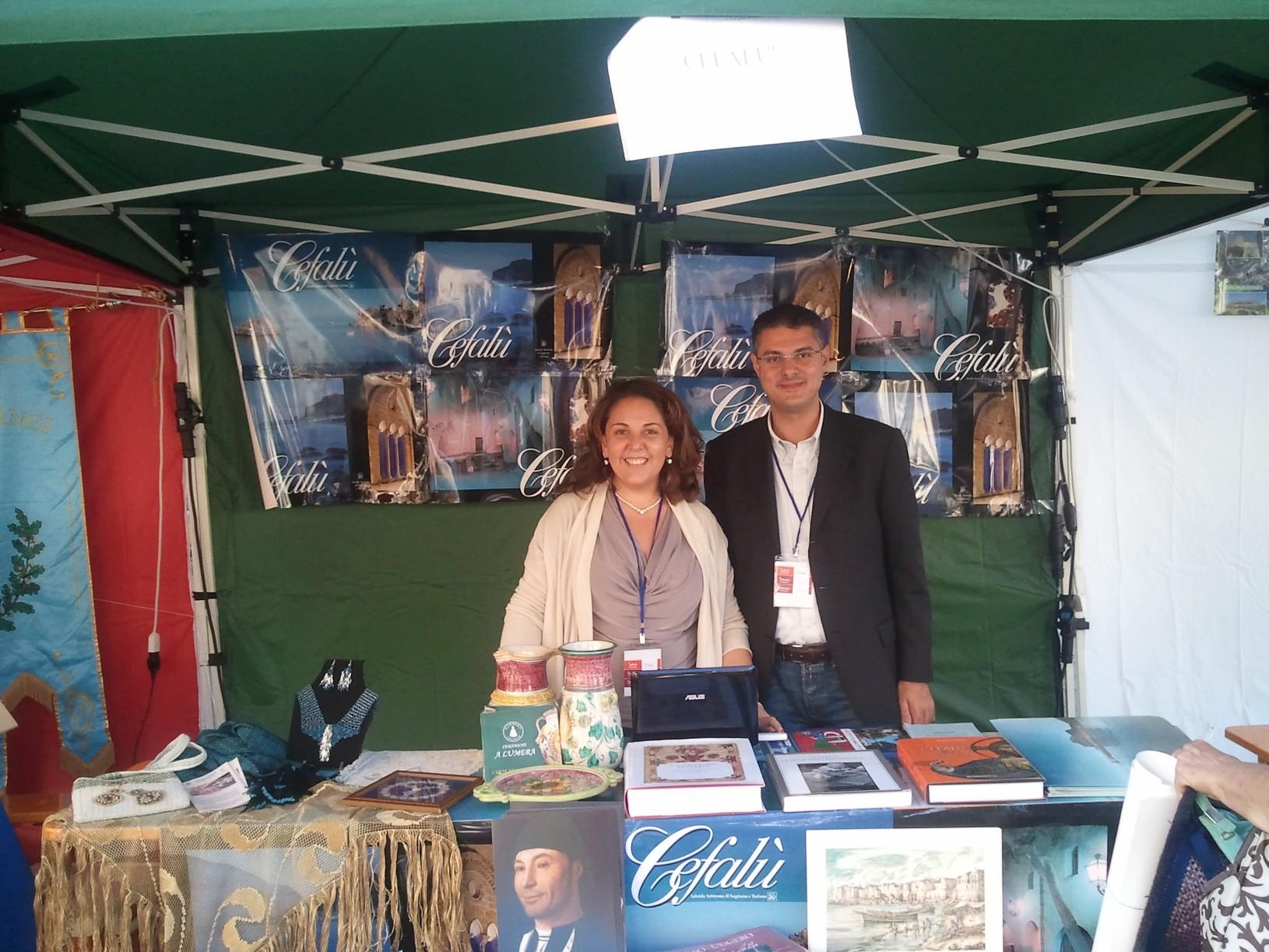 Borghi più Belli d'Italia: allo stand in Puglia Valeria Piazza e Vincenzo Garbo