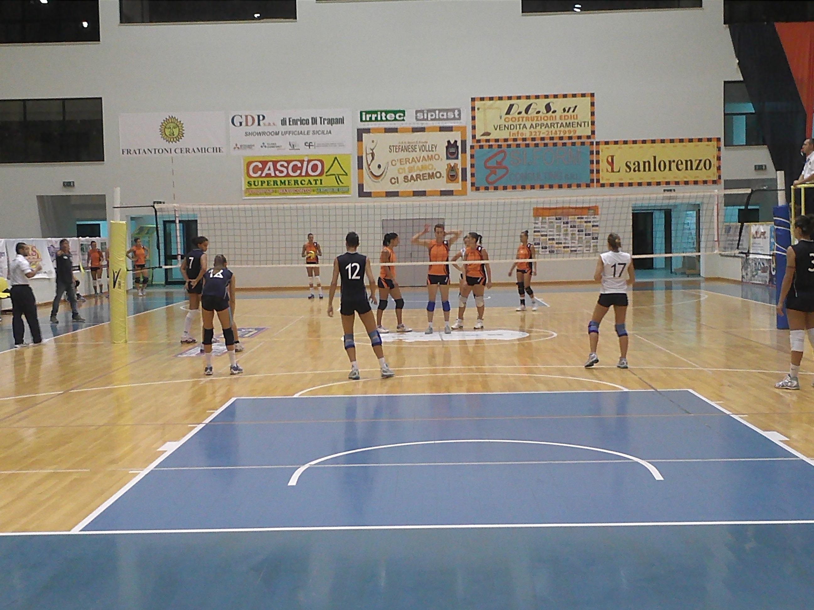 Costaverde Cefalù Volley - Buona la prima: superata l'Irritec S. Stefano in Coppa Italia