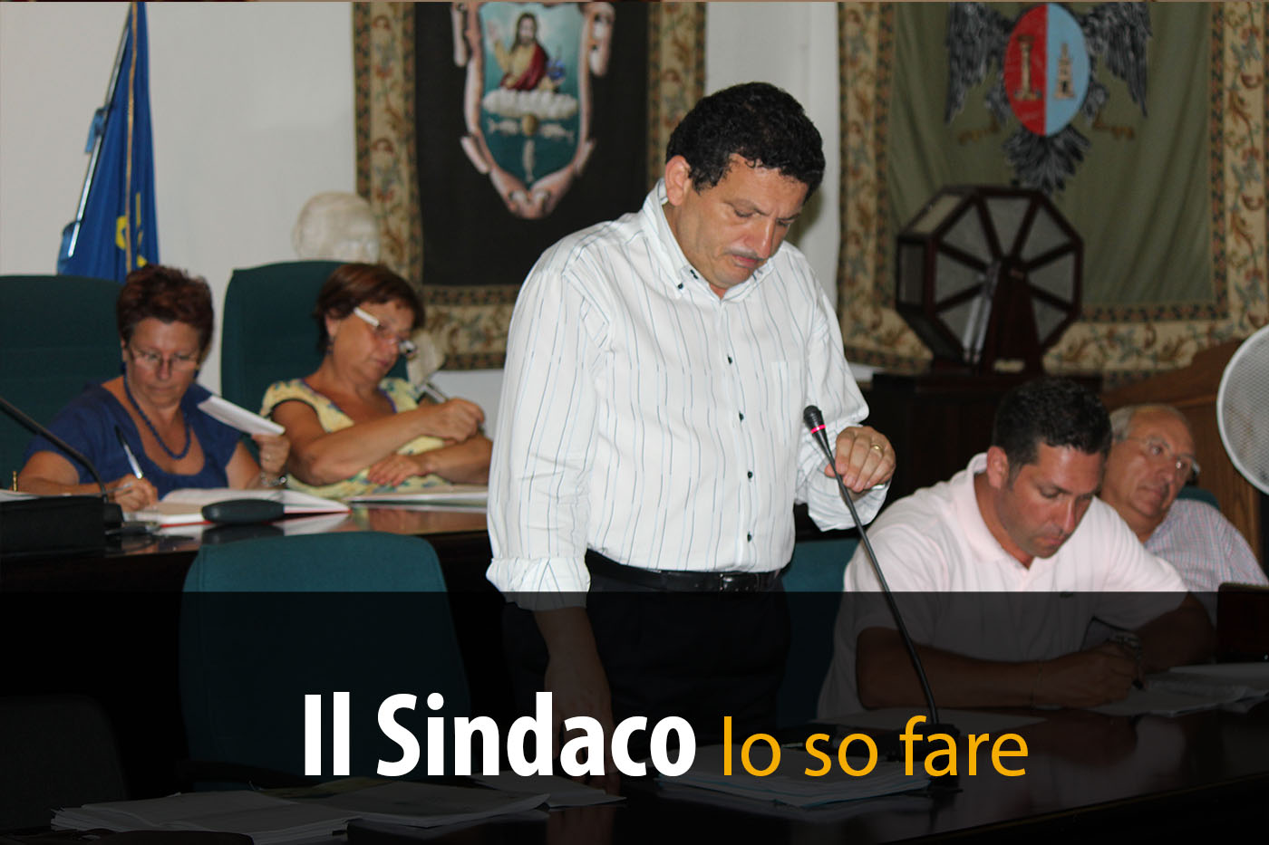 Consiglio Comunale – Lapunzina…lui il Sindaco lo sa fare