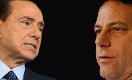"""Il """"conflitto"""" Miccichè - Berlusconi """"cantato"""" da Merighi & Troja"""