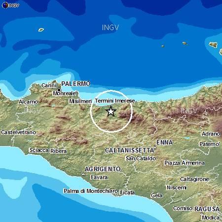 Scossa di terremoto nelle Madonie alle 17.14