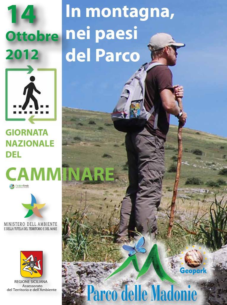 """Parco delle Madonie: giornata del """"Camminare"""""""