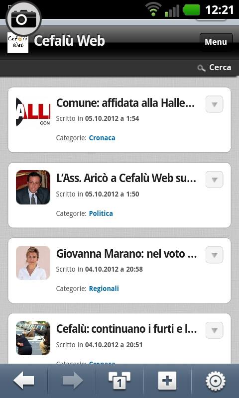 Novità: Cefalù Web lancia la versione mobile!