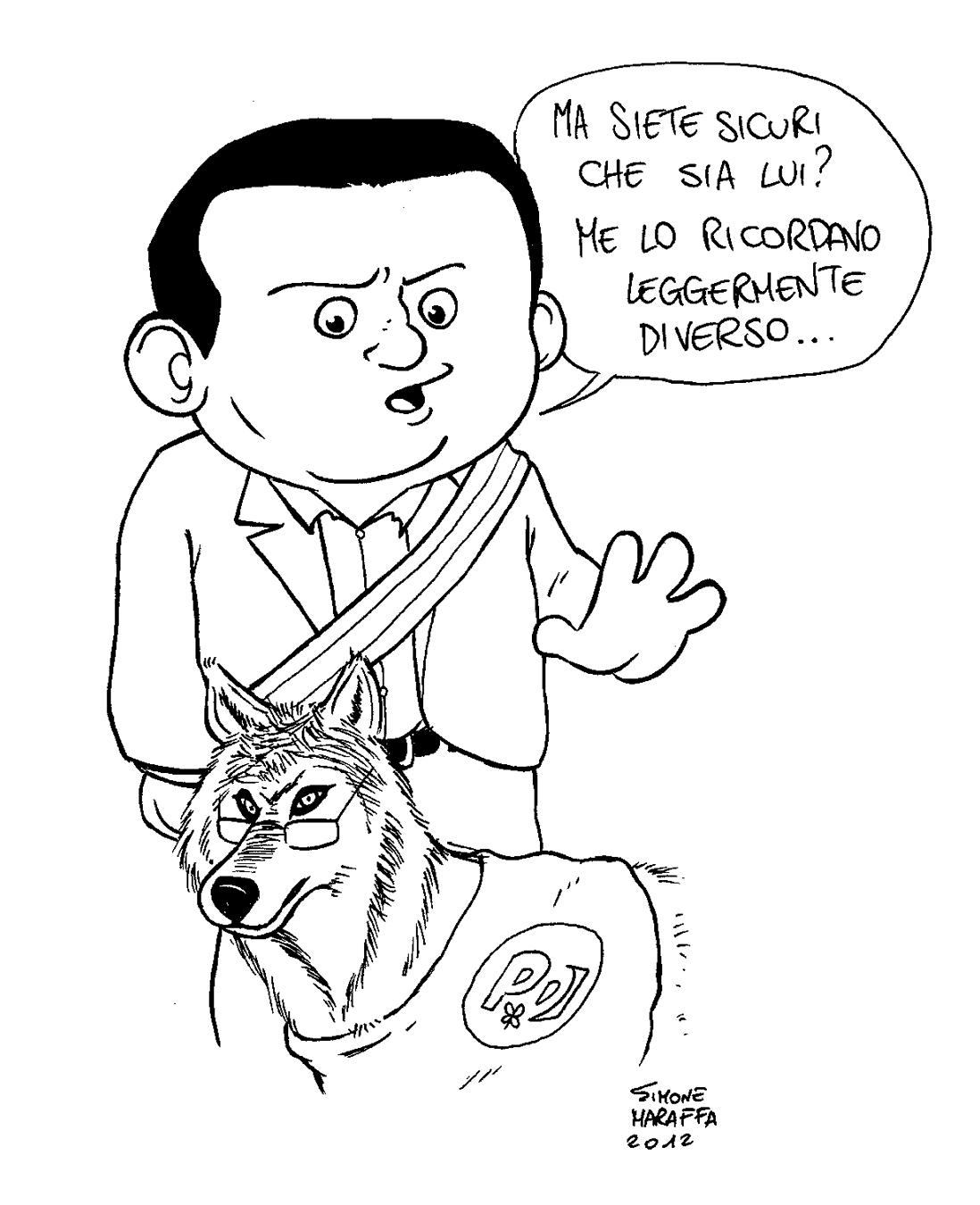"""Le vignette di Cefalù Web: """"Attenti a Lupo!"""""""