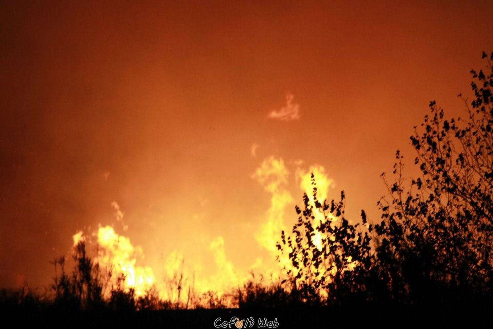 Cefalù, incendio: la Giunta chiede lo stato di calamità naturale