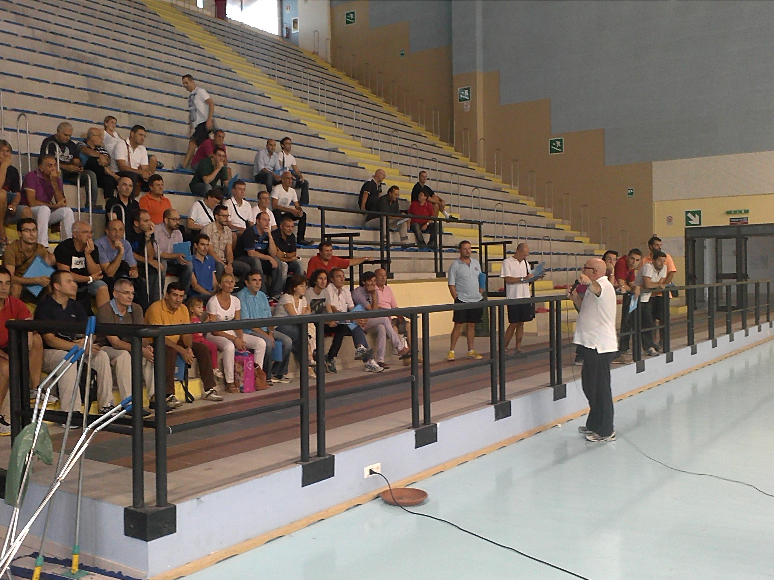 60 tecnici ospiti della Costaverde Volley Cefalù per il corso di aggiornamento regionale