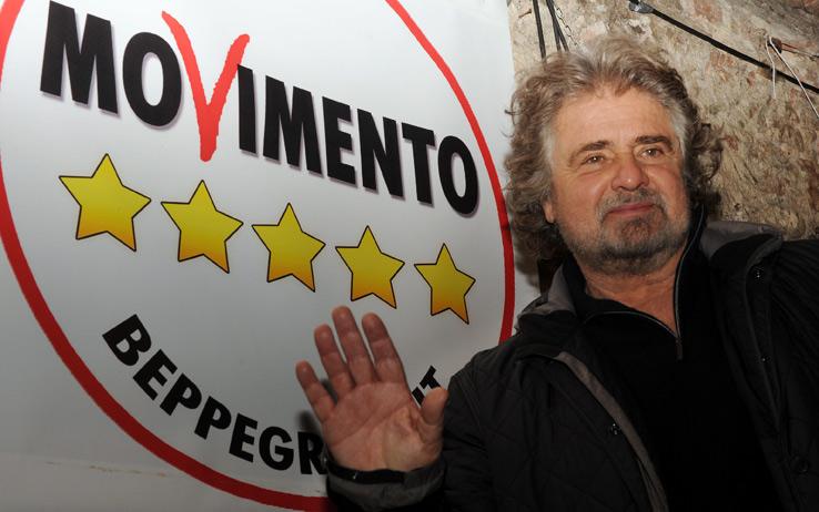 Grillo chiude la campagna a Caltanissetta