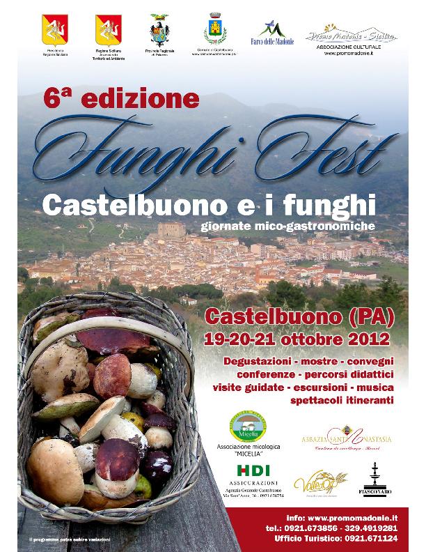 Castelbuono: VI edizione Funghi Fest