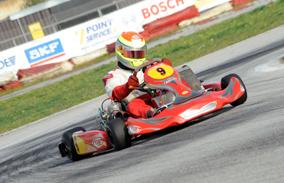 """Marsiglia sul podio del Trofeo """"Kart Sicily"""""""