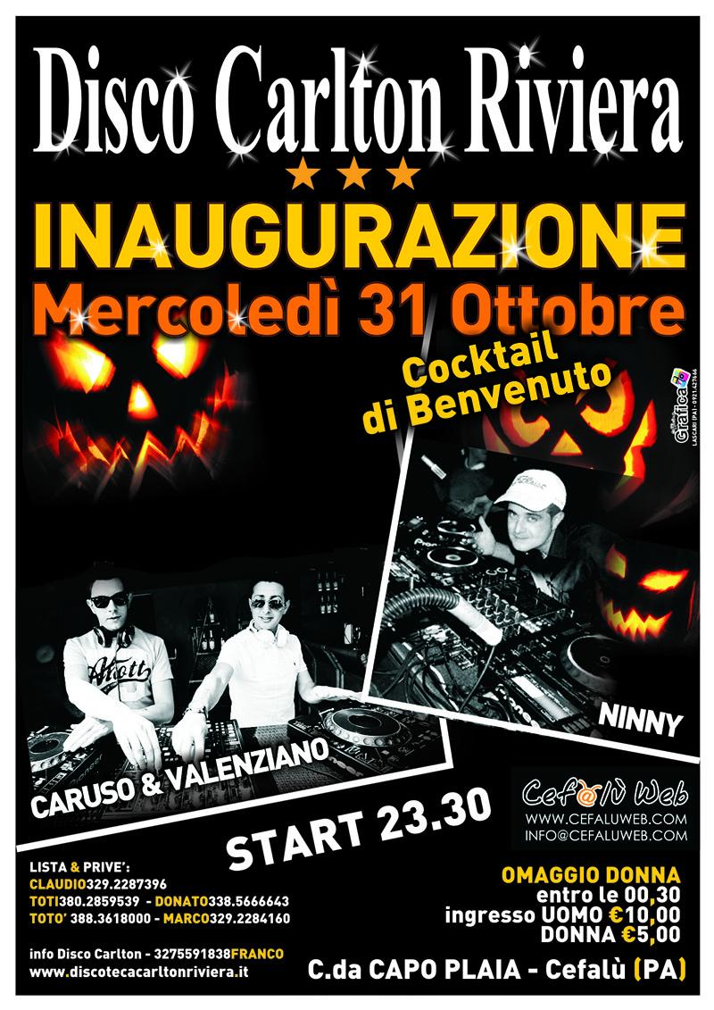 Discoteca Carlton Riviera: Inaugurazione & Halloween 2012