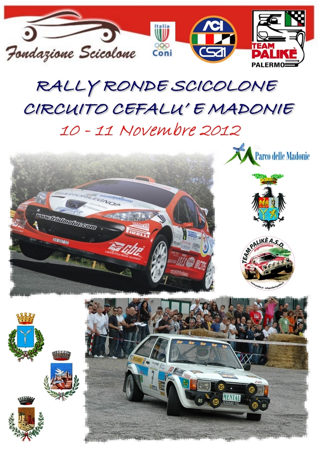 """Il circuito """"Madonie"""" del Rally Ronde Scicolone"""