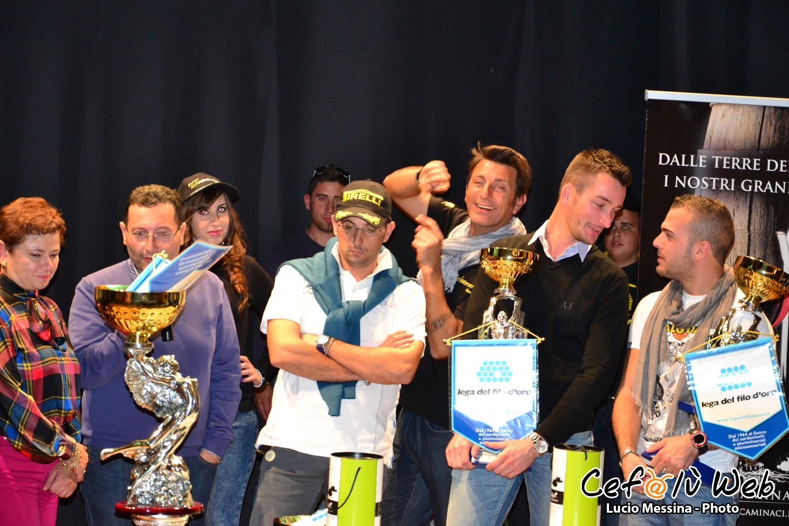 Rally Ronde Scicolone: Arrivo e premiazione [Foto]