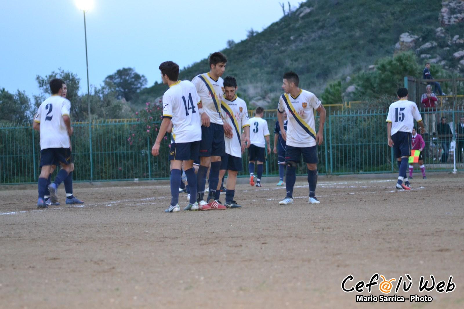 Grande prova del Cefalù, vittoria a porte chiuse nel derby col Real Calcio [Foto]