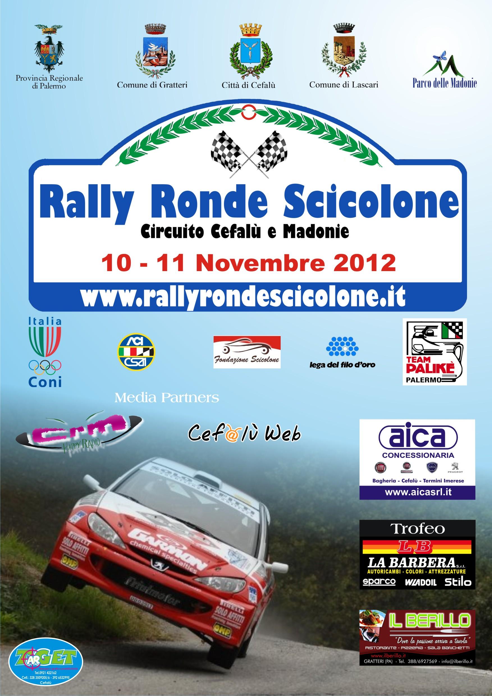 Rally Ronde Scicolone si avvicina: ecco la nuova locandina