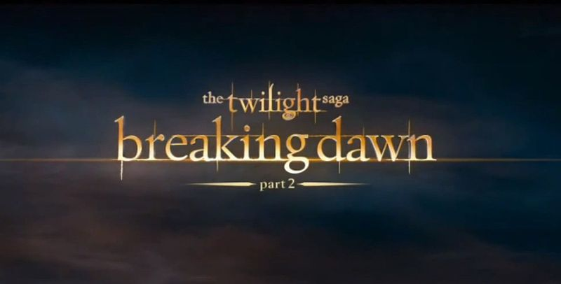 Il fenomeno Breaking Dawn al cinema Di Francesca