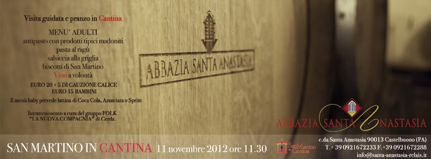 ABBAZIA SANTA ANASTASIA: SAN MARTINO IN CANTINA...