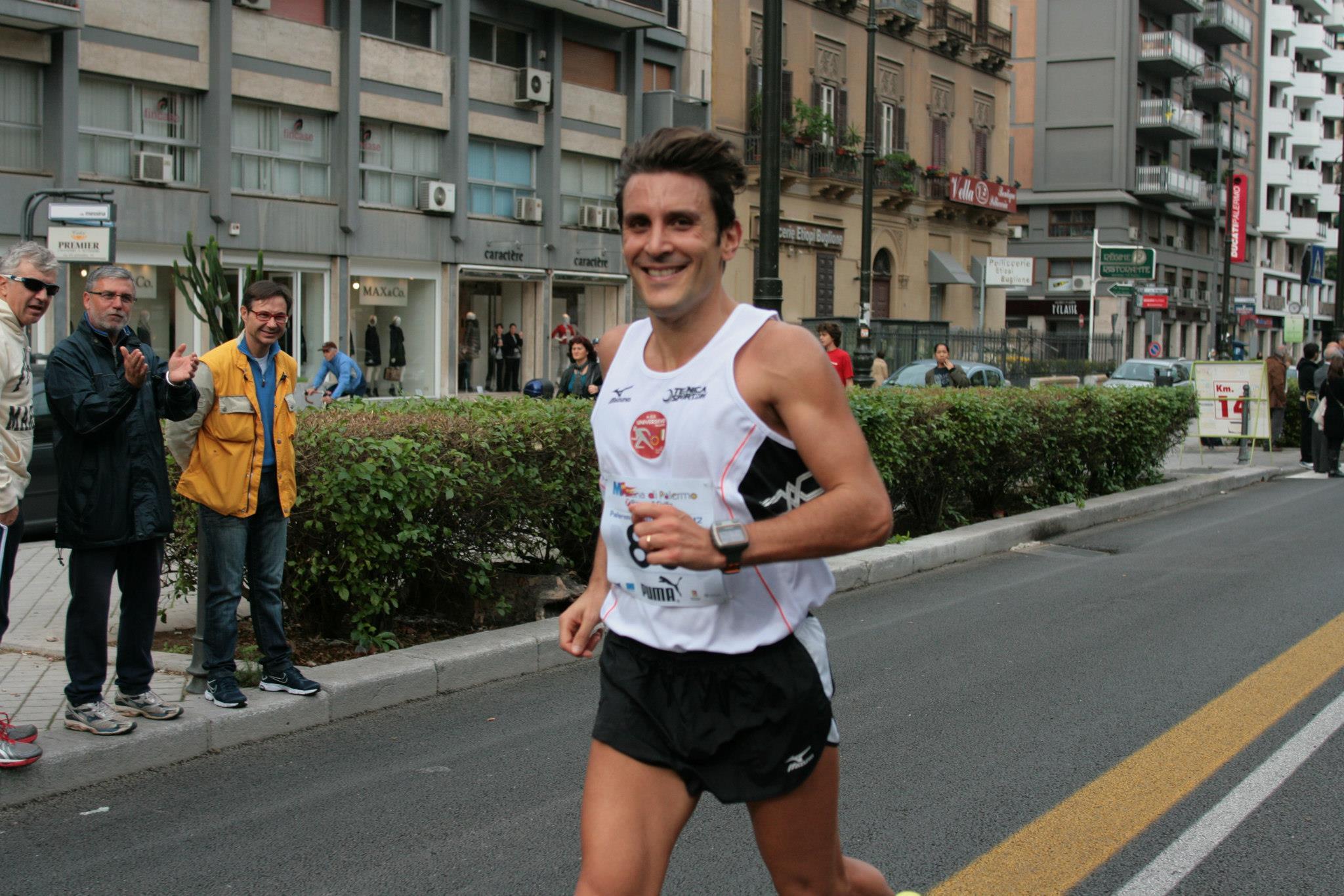 Maratona Città di Palermo: 1° degli italiani il cefaludese Alessandro Saccone