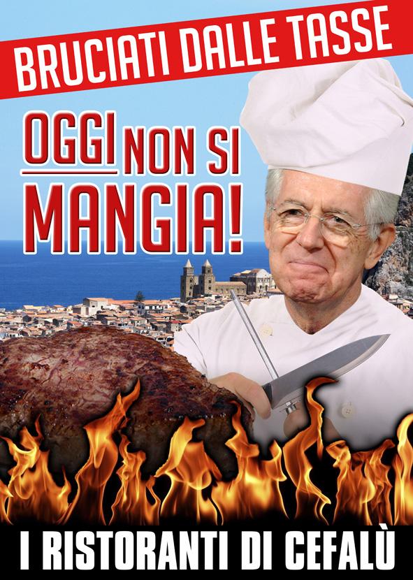 I Ristoranti di Cefalù: Bruciati dalle tasse, oggi non si mangia