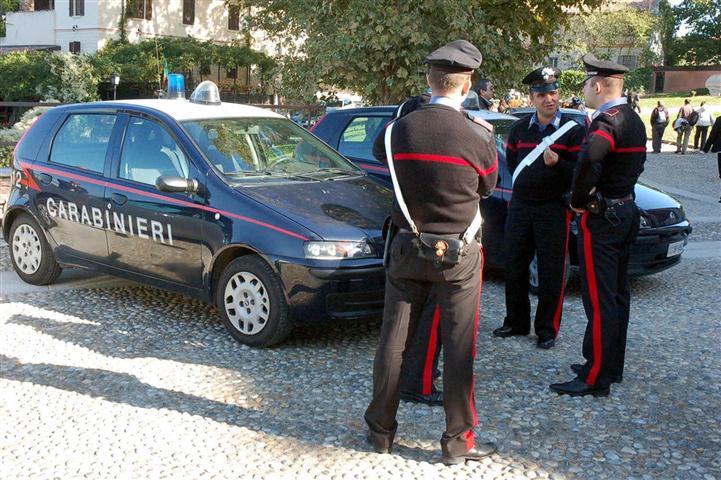 Carabinieri: le operazioni di questi giorni