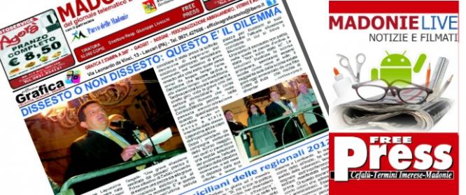 In distribuzione il primo numero (Novembre) del mensile di Madonielive ...