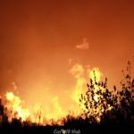 Incendio nella notte in contrada Ferla