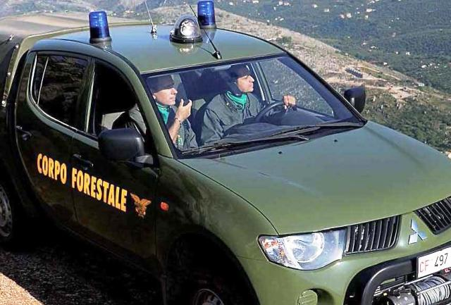 Arrivano i nuovi mezzi per il Corpo forestale