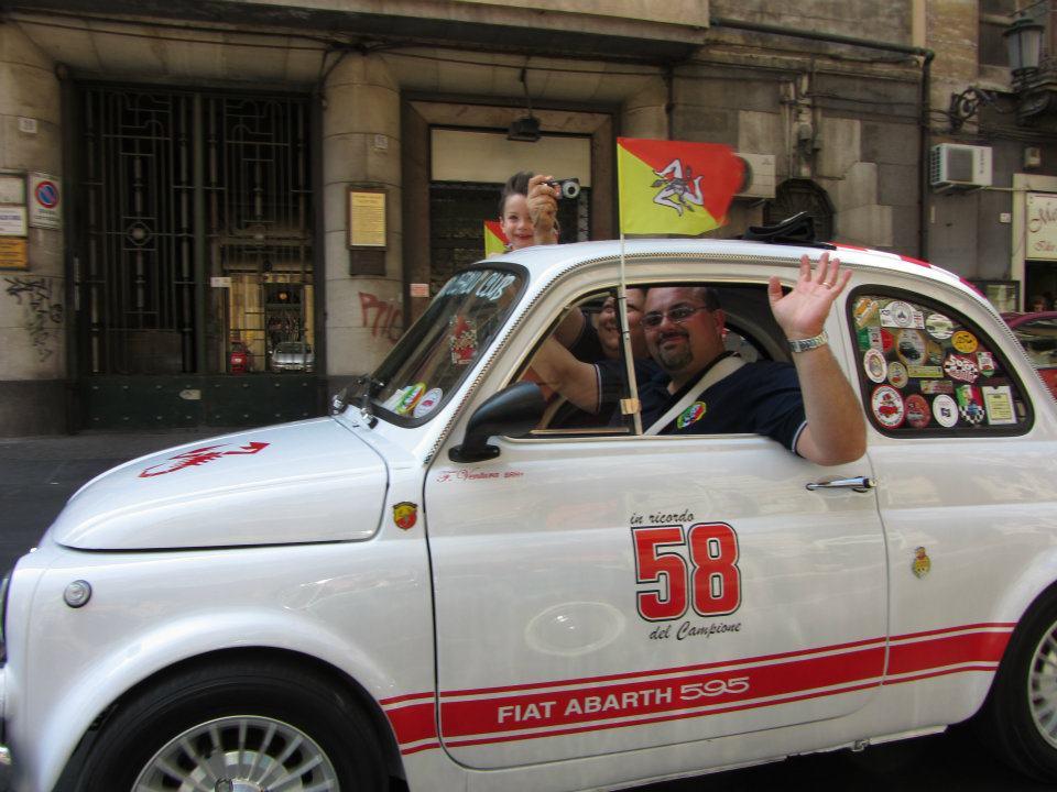 Francesco Ventura e le 500: storia di un amore