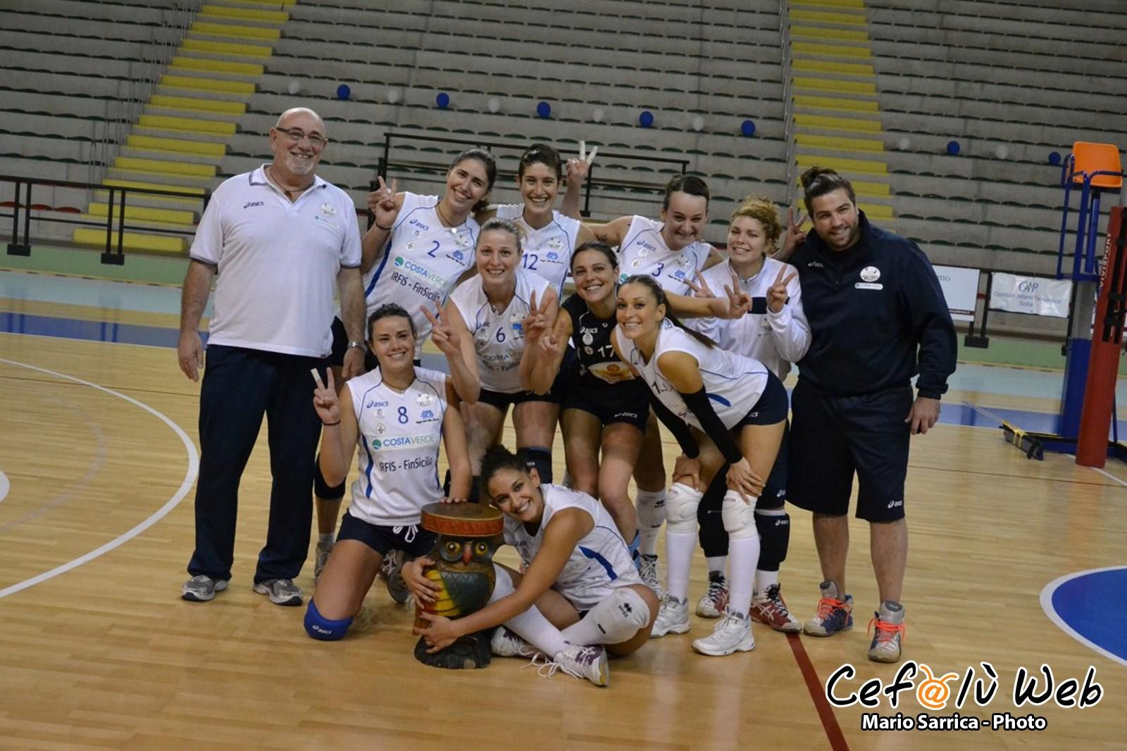 Torna alla vittoria la Costaverde Cefalù Volley: 3-0 al Barcellona