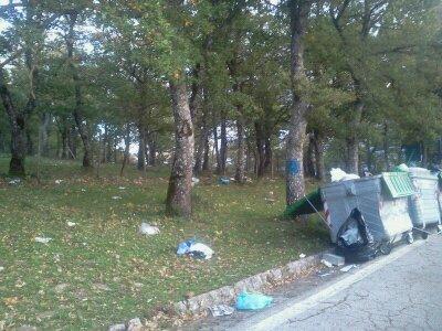 Cefalù: i rifiuti a Piano delle Fate (fotogallery)