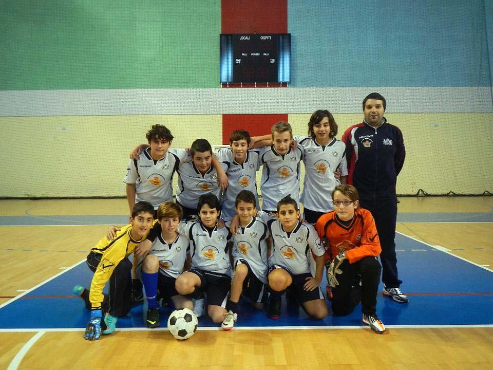 Calcio a 5 giovanissimi: vittoria per la Pol. REAL CEFALU'