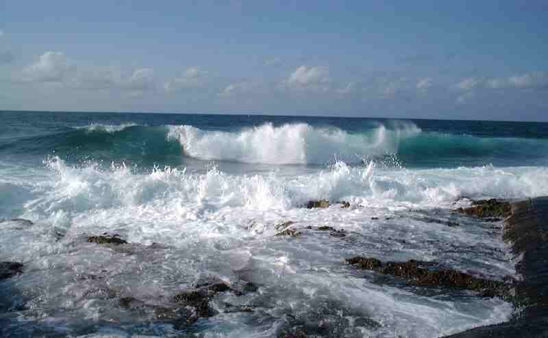 Disperso in mare giovane che pescava