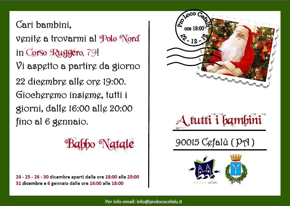 Pro Loco Cefalù: attività natalizie