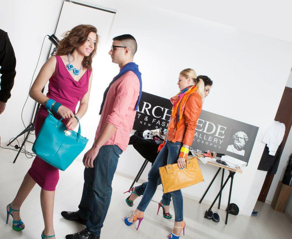 Casting Modelle&Modelli per la sfilata PE Archimede Art & Fashion Gallery