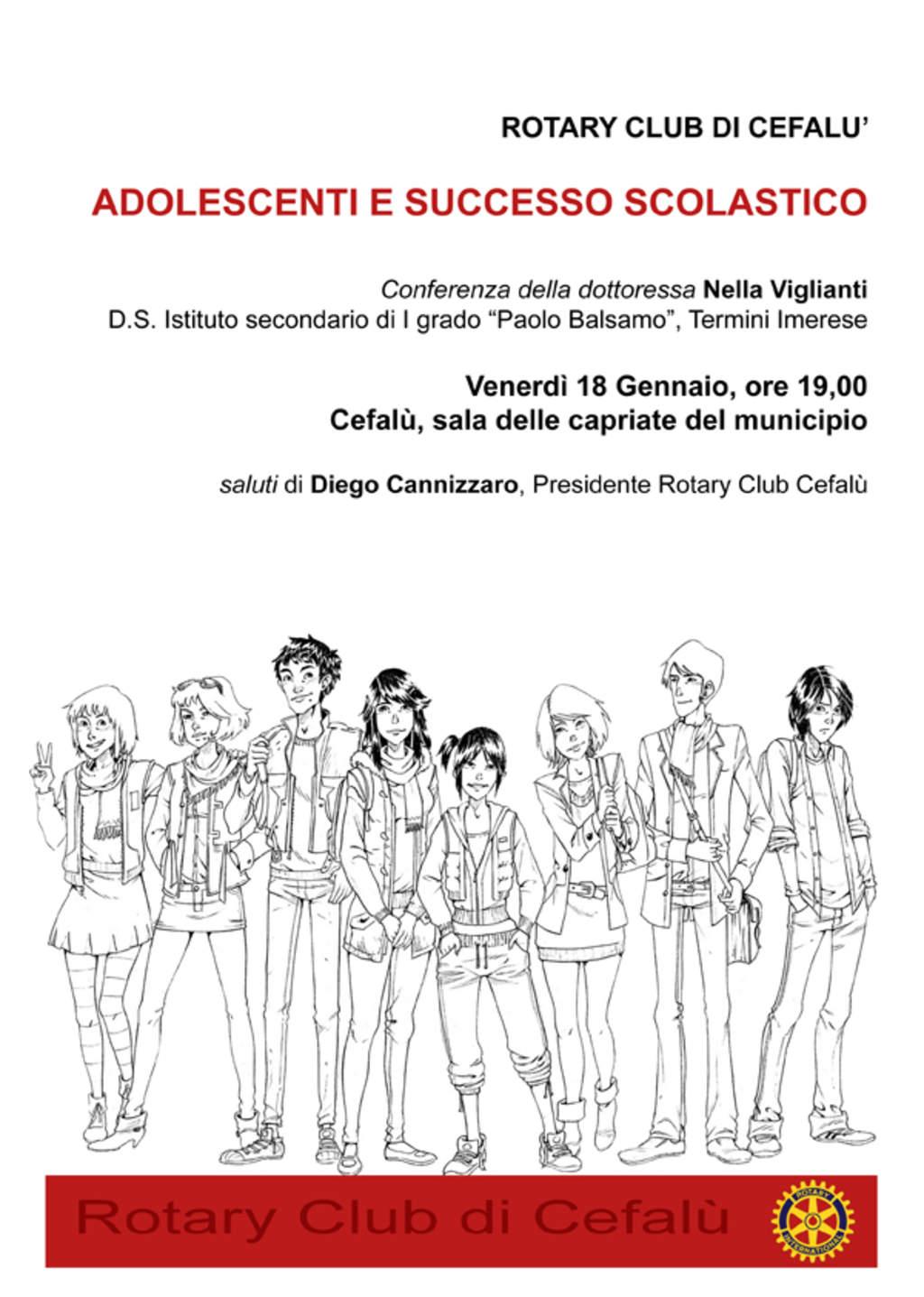 Adolescenti e successo scolastico: questo pomeriggio alle 19.00