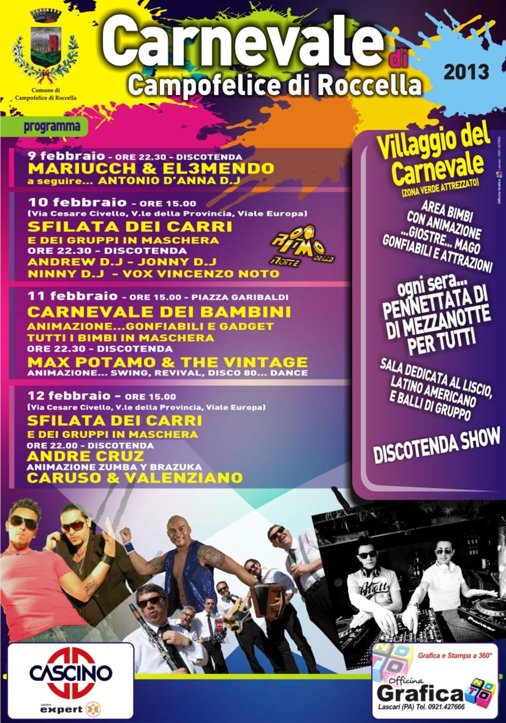 Carnevale Campofelice di Roccella 2013