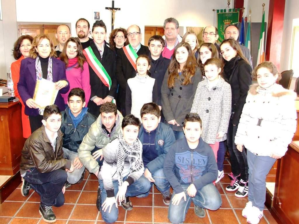 Insediamento del mini-sindaco a San Mauro Castelverde