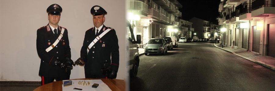 Lascari, spara alla moglie: arrestato