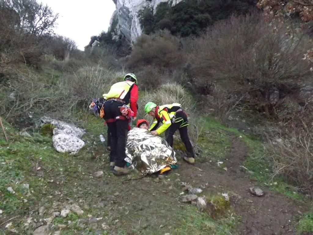 Ventimiglia, soccorso alpino in azione per escursionista ferita