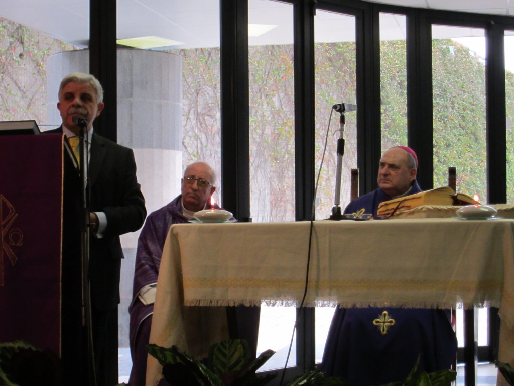 Ospedale Giglio, Pasqua: celebrata la messa da Manzella