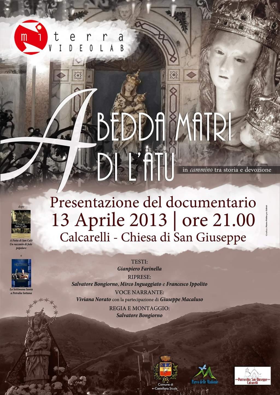 """Video-Doc """"A Bedda Matri di L'Atu"""", nella parrocchia di Calcarelli in Castellana Sicula"""