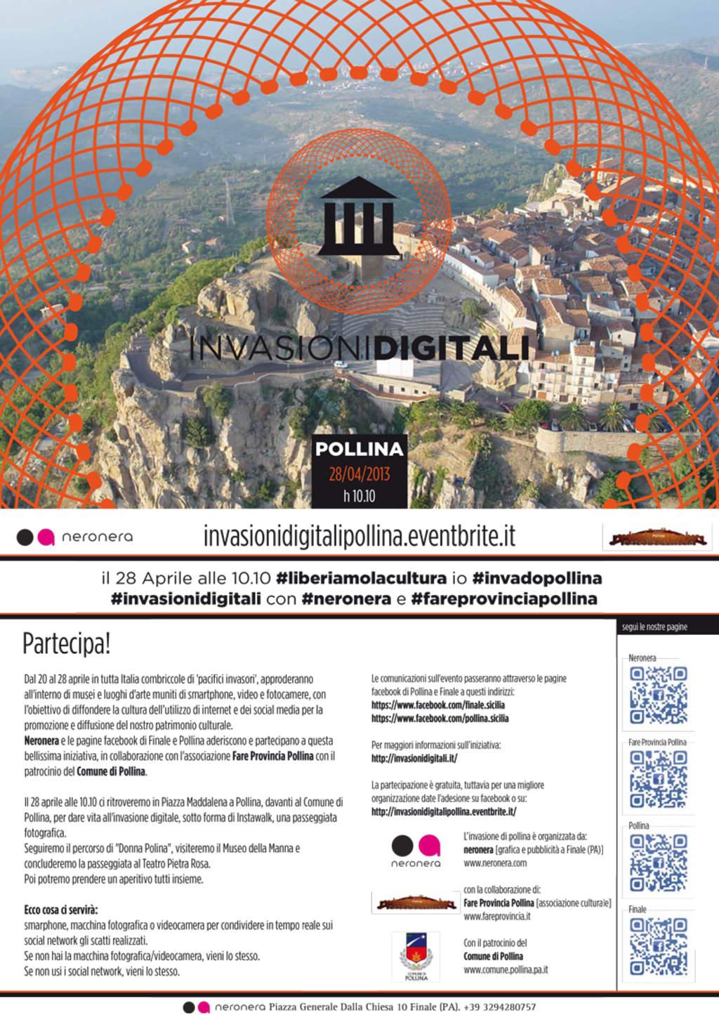 Invasioni digitali a Pollina