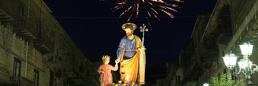 San Giuseppe Lavoratore ad Alimena: in processione i muli bardati a festa