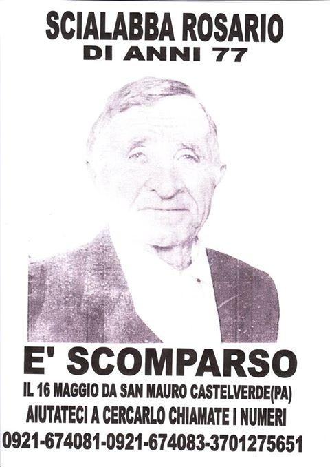 San Mauro: ancora nulle le ricerche dell'anziano scomparso