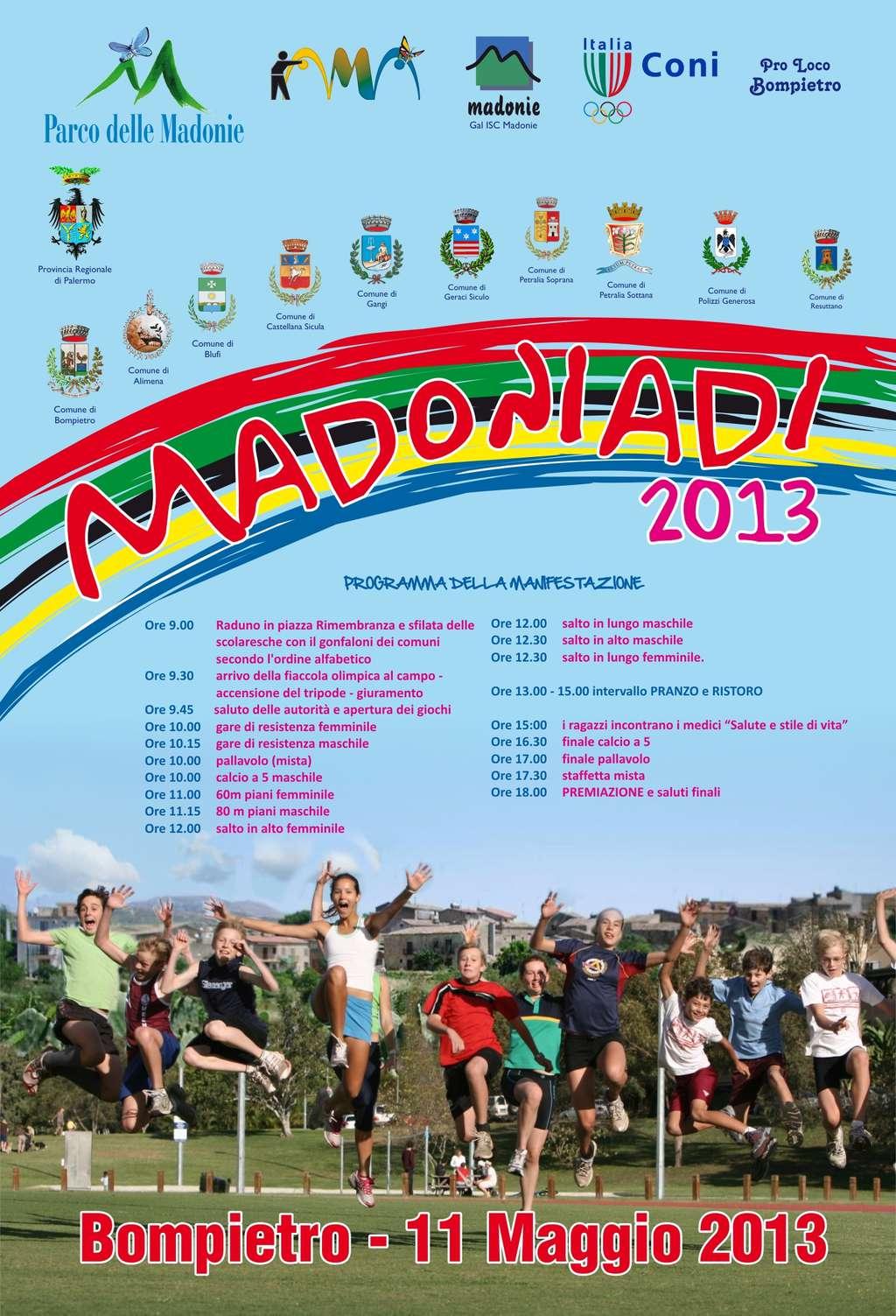 Sabato, a Bompietro, la I^ edizione di Madoniadi