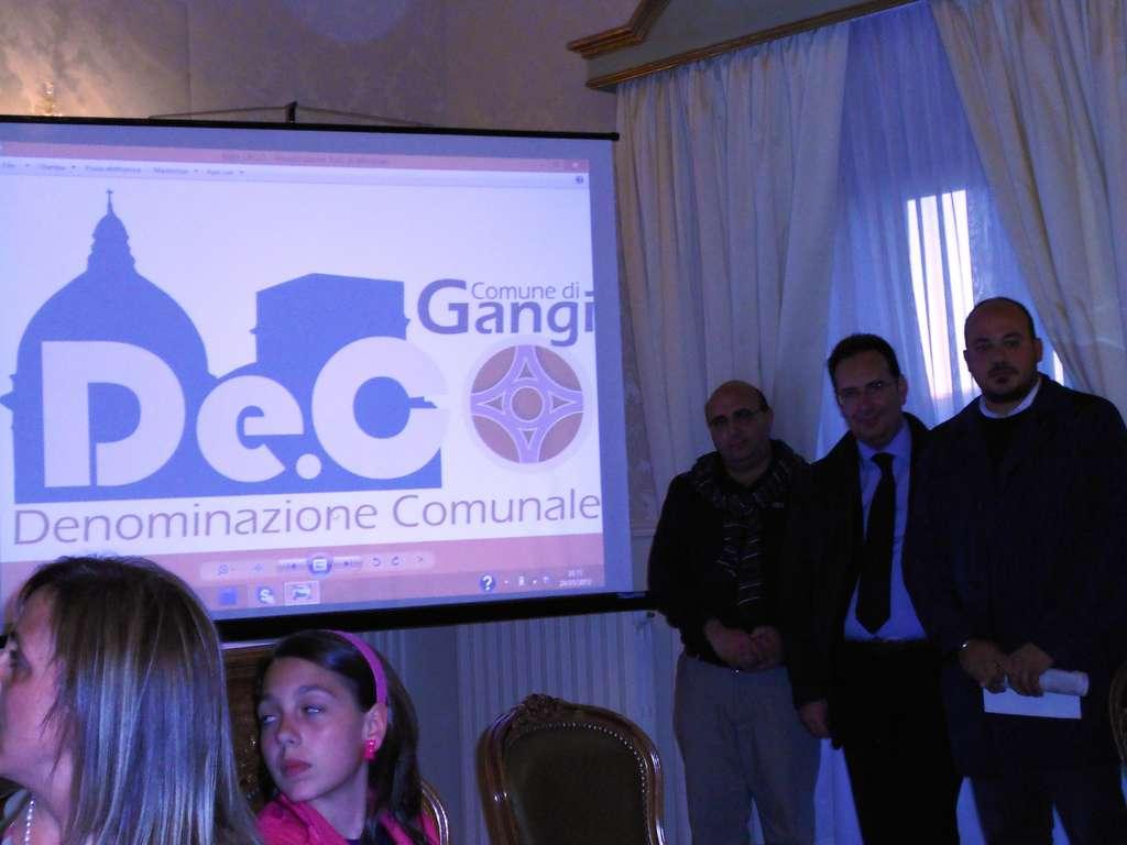 Gangi: concorso logotipo De.c.o. vinto da Bevacqua